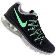 Tênis Nike Air Max Excellerate 5 - Feminino - PRETO/VERDE CLA