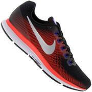 Tênis Nike Air Zoom Pegasus 34 - Masculino - PRETO/CINZA CLARO