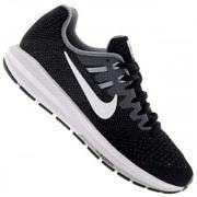 Tênis Nike Air Zoom Structure 20 - Feminino - PRETO/BRANCO