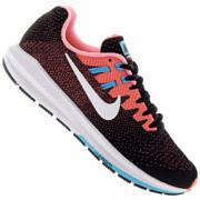 Tênis Nike Air Zoom Structure 20 - Feminino - PRETO/ROSA