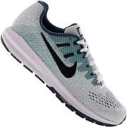 Tênis Nike Air Zoom Structure 20 - Masculino - BRANCO/AZUL