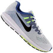 Tênis Nike Air Zoom Structure 20 - Masculino - Bege/Preto