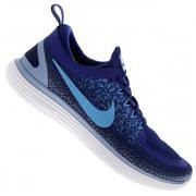 Tênis Nike Free RN Distance 2 - Masculino - AZUL ESC/AZUL CLA