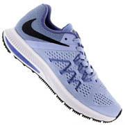 Tênis Nike Zoom Winflo 3 - Feminino - ROXO CLARO/PRETO