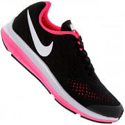 Tênis Nike Zoom Winflo 4 Feminino - Infantil - PRETO/BRANCO