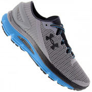 Tênis Under Armour Speedform Gemini 2.1 - Masculino - CINZA CLARO