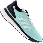 Tênis adidas Response LT - Feminino - VERDE CLA/AZUL ESC