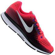 Tênis Nike Air Zoom Pegasus 34 - Feminino - Rosa Esc/Cinza