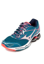 Tênis Mizuno Wave Creation 18 Azul/Rosa/Prata
