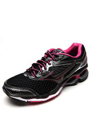 Tênis Mizuno Wave Creation 18 Preto/Rosa
