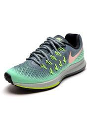 Tênis Nike Air Zoom Structure 20 Shield Cinza/Verde