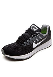 Tênis Nike Wmns Air Zoom Structure 20 Preto/Cinza