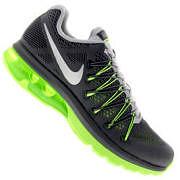 Tênis Nike Air Max Excellerate 5 - Masculino - CINZA ESC/VERDE CLA