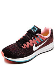 Tênis Nike Air Zoom Structure 20 Preto/Rosa