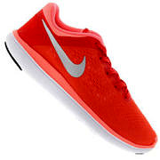 Tênis Nike Flex 2016 RN GS - Infantil - LARANJA/CINZA CLA