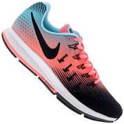 Tênis Nike Air Zoom Pegasus 33 - Feminino - PRETO/ROSA