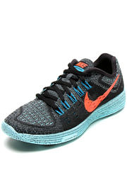 Tênis Nike Lunartempo Azul/Preto/Laranja