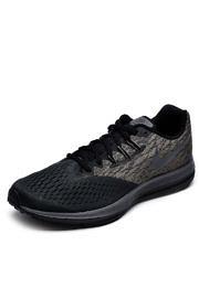 Tênis Nike Zoom Winflo 4 Preto/Cinza
