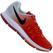 Tênis Nike Air Zoom Pegasus 33 - Masculino - VERMELHO/CINZA CLA