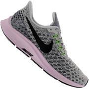 Tênis Nike Air Zoom Pegasus 35 - Feminino - CINZA CLA/PRETO
